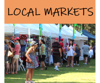 SUPPORT LOCAL @ THE LOCAL MARKETS