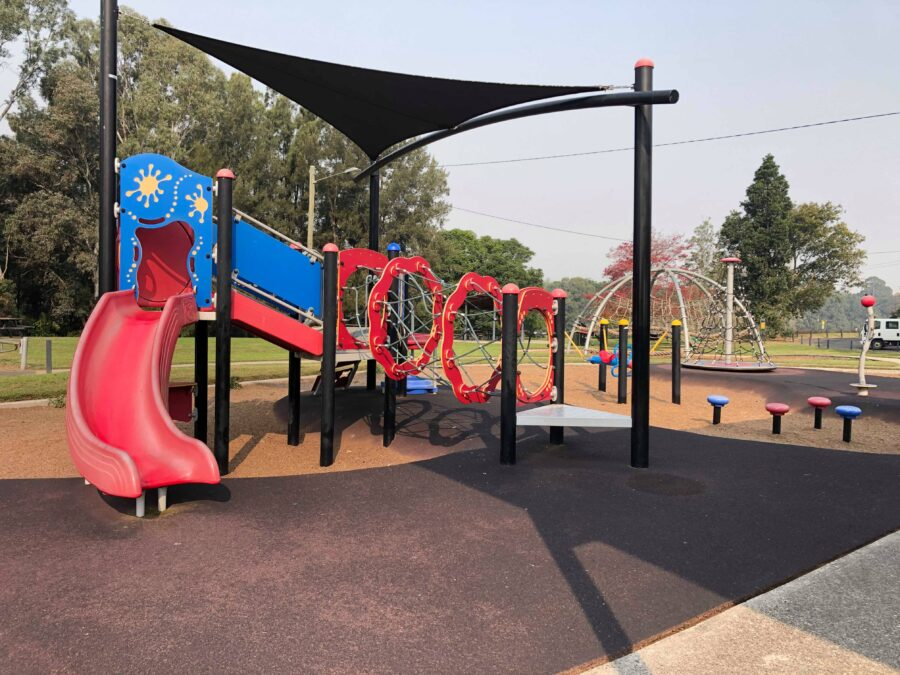 macquarie park playground hawkesbury windsor play cafe family whats on