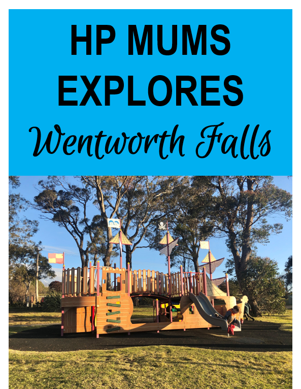 explore wentworth falls day trip family kids blue mountains penrith