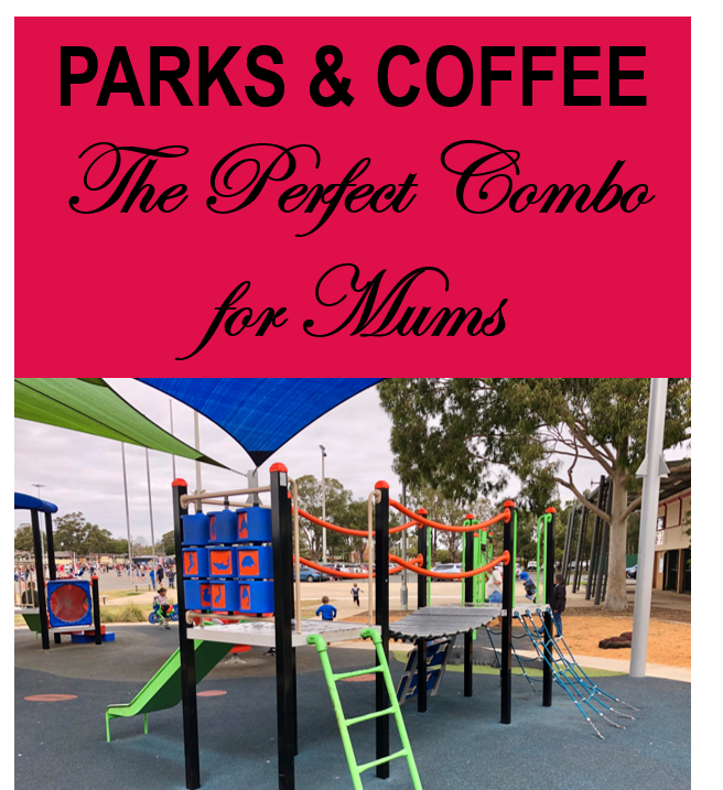 parks coffee combo play kids outside mums playground