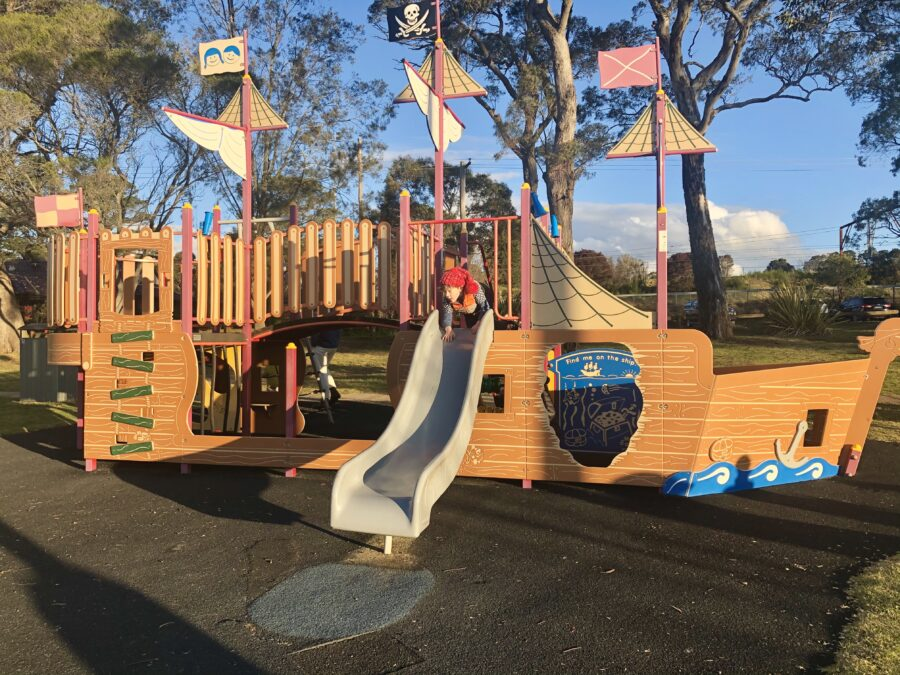 explore wentworth falls eat playground family walking track