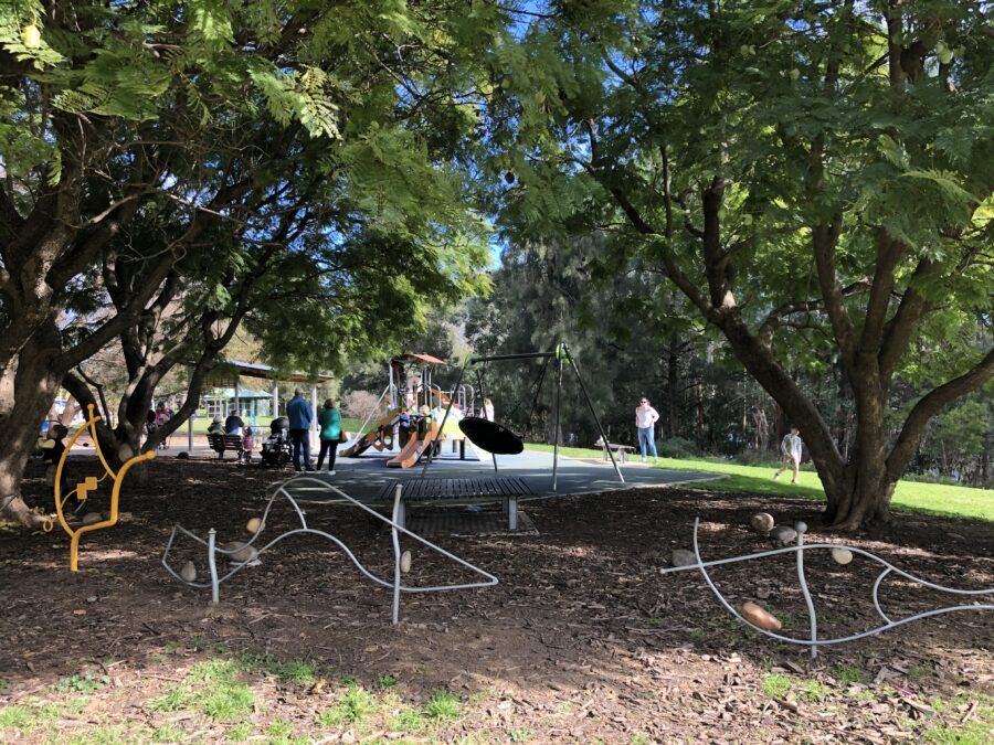 tench reserve penrith nepean river family playground play picnic cafe