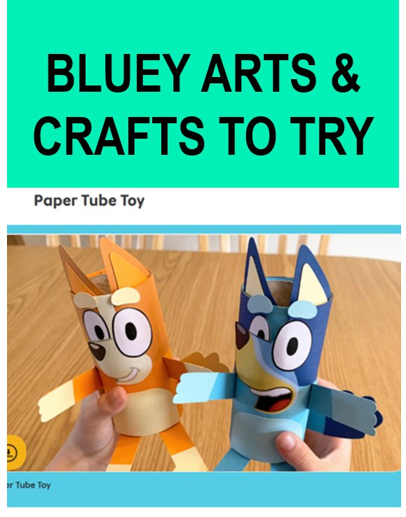 bluey art craft kids