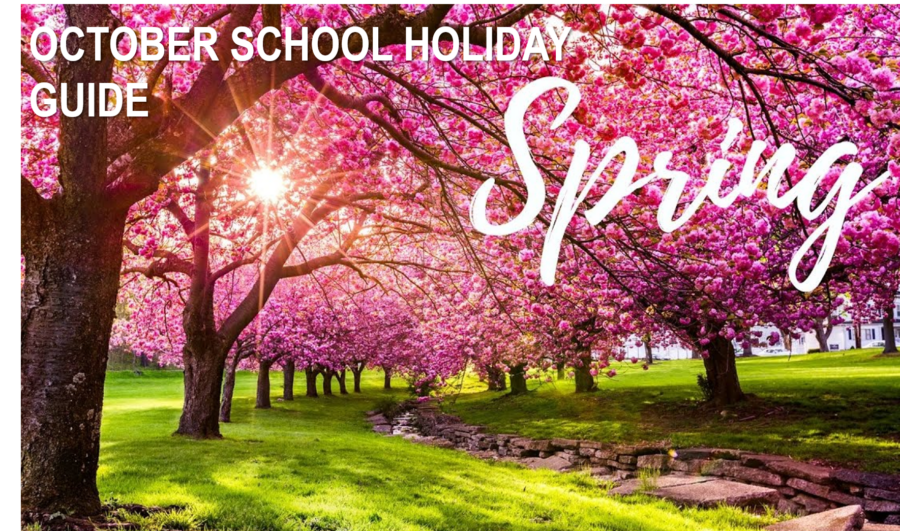 October Spring School Holiday Guide feature image