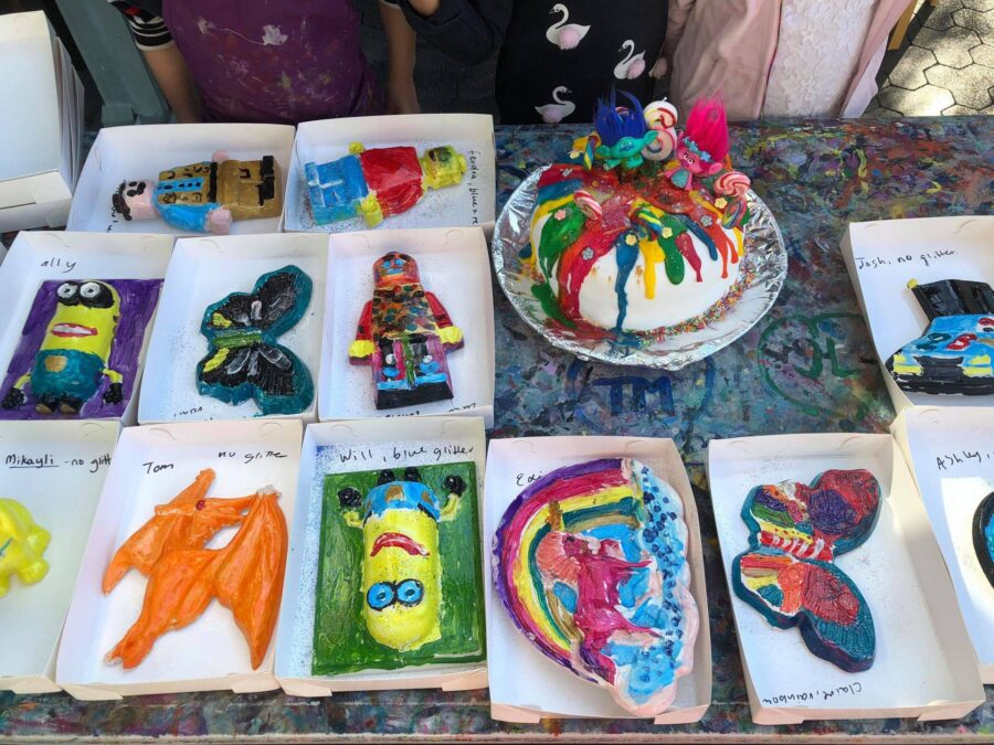 plaster painting fun time penrith rsl school holidays activities kids