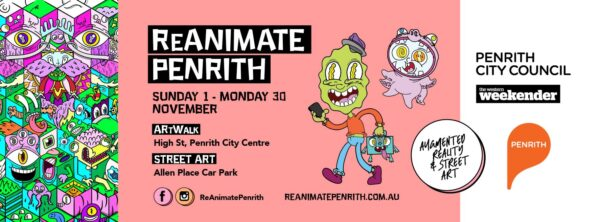Experience 'ReAnimate Penrith' this November