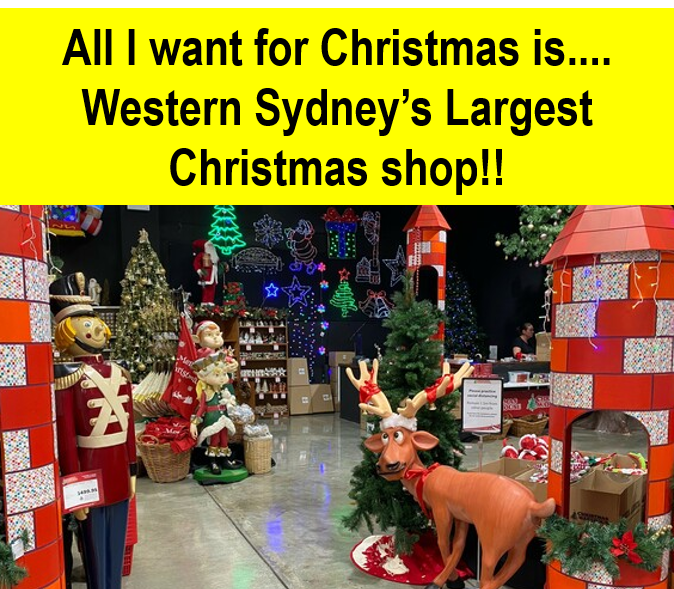 Western Sydney's largest christmas shop