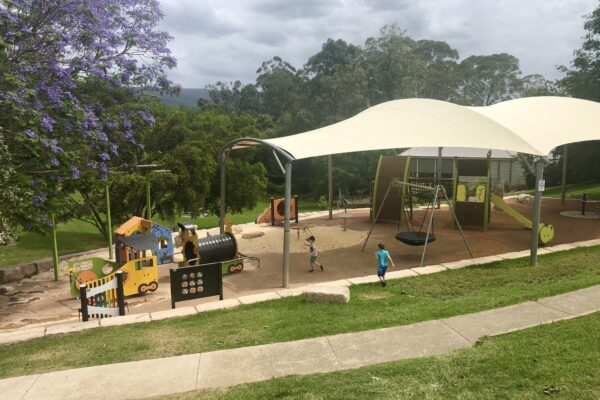 The New Kurrajong Memorial Park. Worth the visit!