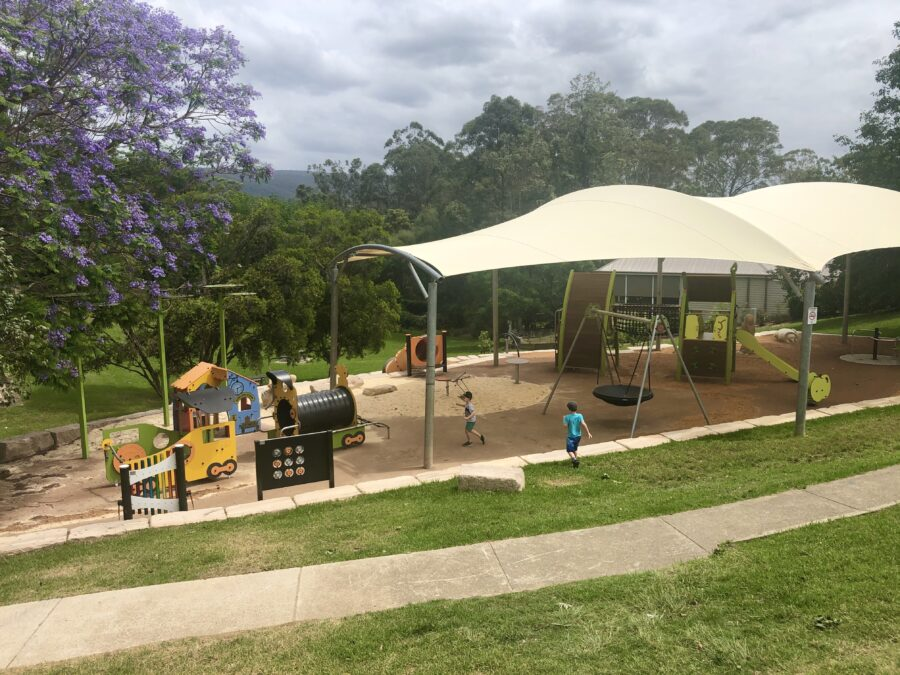 Kurrajong Memorial Park Playground new 2020