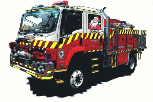 Santa Runs in the Greater Western Sydney Area