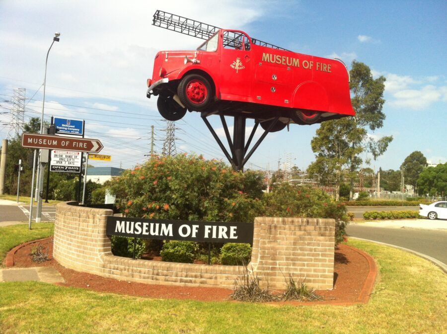 Museum of Fire Penrith Western Sydney whats on school holidays family activities