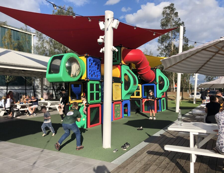 Peachtree Hotel Penrith Nepean eat out lunch play area family