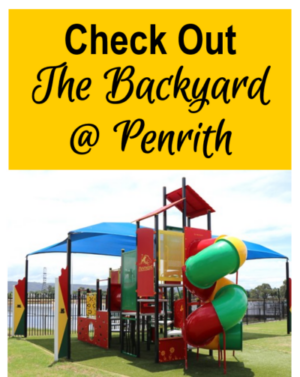 The backyard penrith nepean western sydney eating bbq play playground whats on family