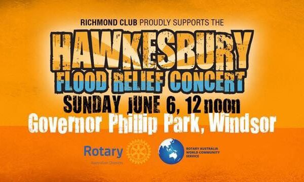 Hawkesbury Flood Relief Concert – A must support event!