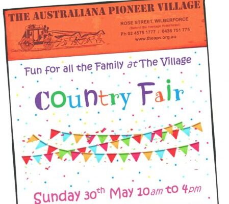 Take the family out to The Village Country Fair