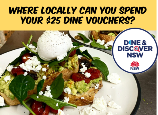 Where can you spend your Dine & Discover Vouchers? Find out here