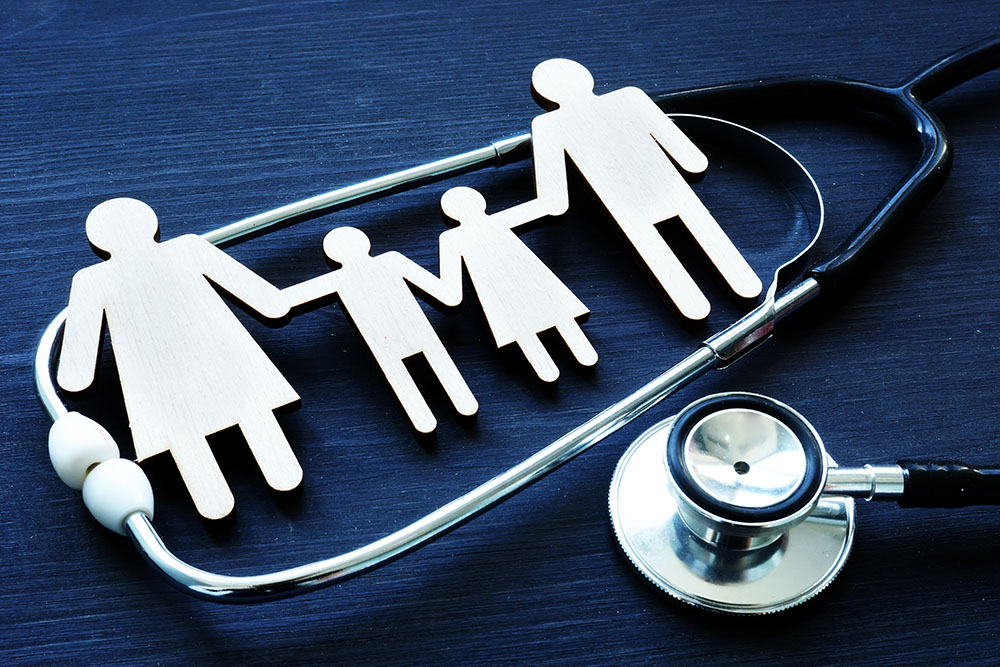 Family Practice and Stethoscope