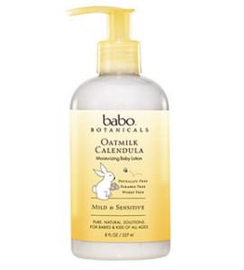 babo botanicals natural non toxic oatmilk calendula baby lotion