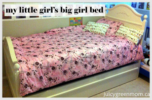 """My Little Girl's """"Big-Girl"""" Non-Toxic Bed"""
