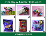 healthy and green halloween ideas
