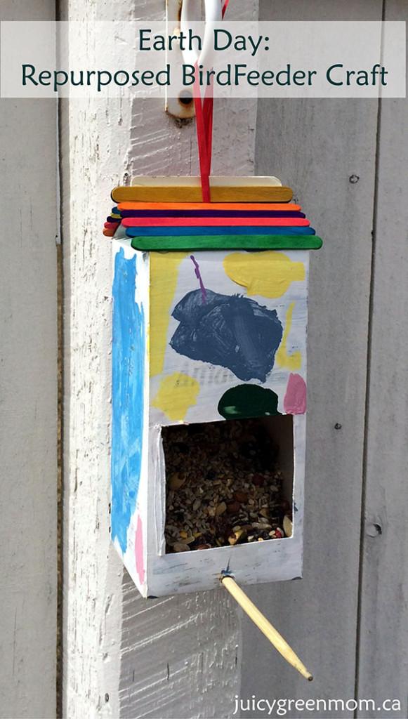 DIY Repurposed Bird Feeder Craft