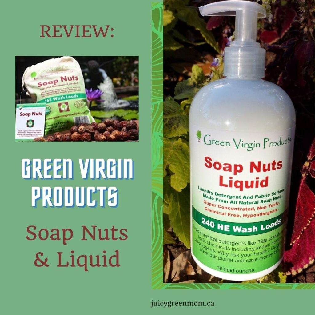 REVIEW_ Green Virgin Products Soap Nuts & Liquid juicygreenmom