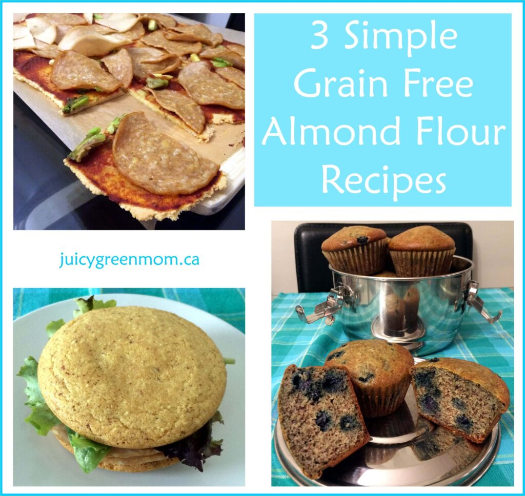 3 Grain Free Almond Flour Recipes