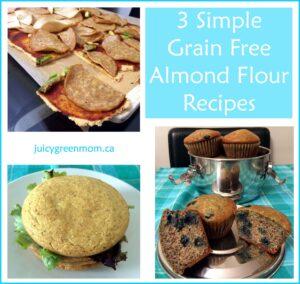 3 Grain Free Almond Flour Recipes