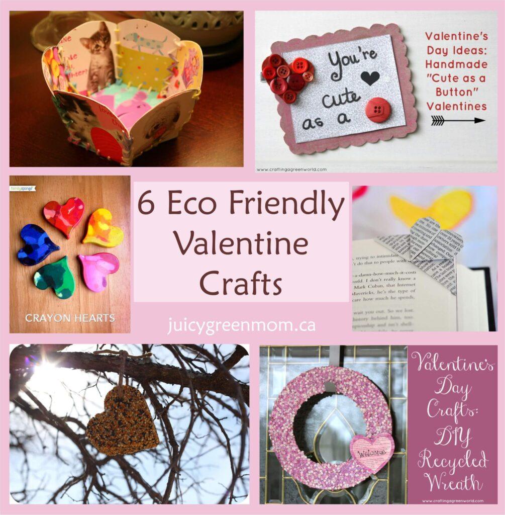 6 Eco-Friendly Valentine Crafts