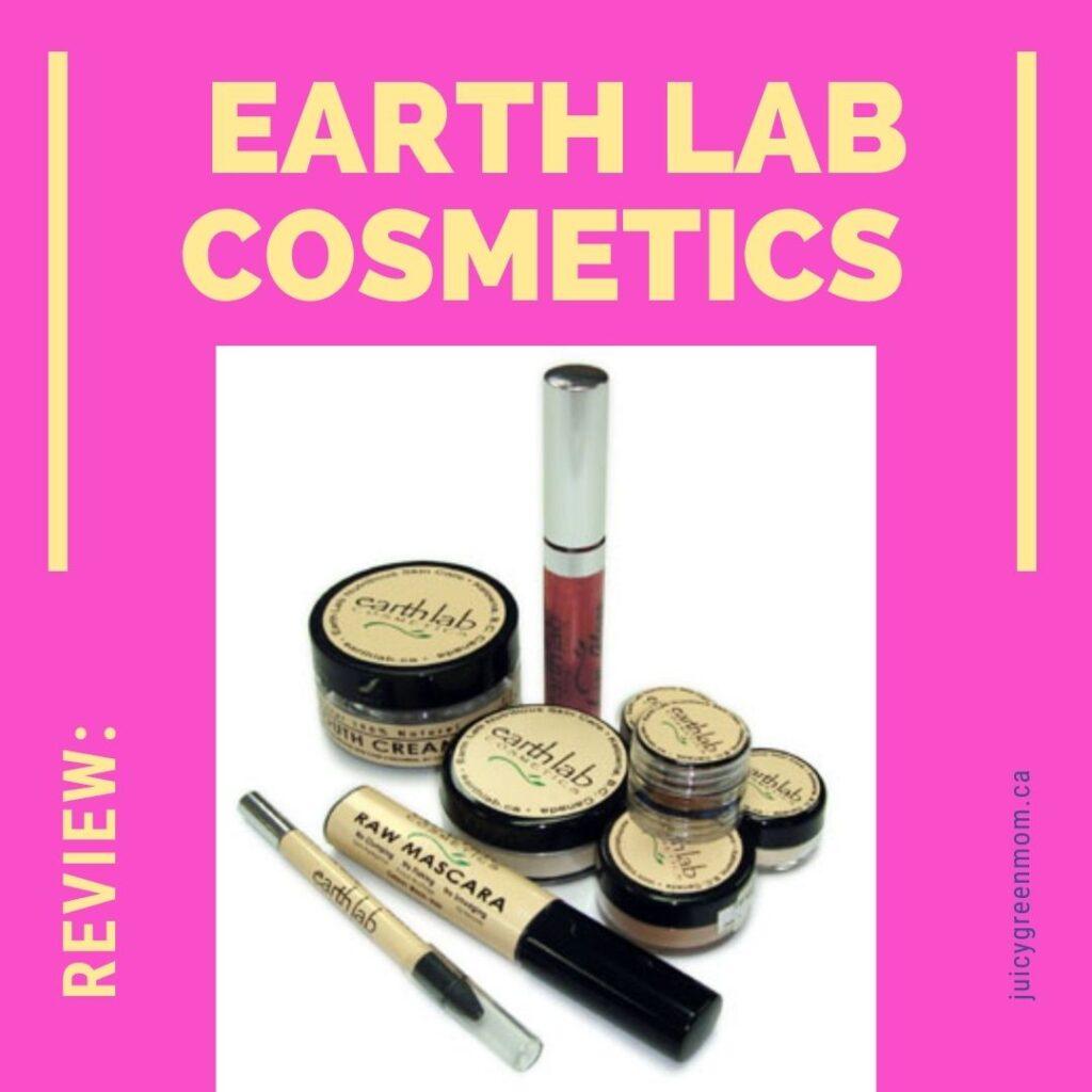review earth lab cosmetics juicygreenmom