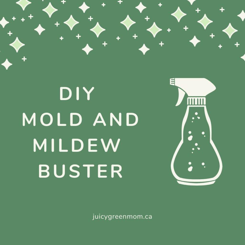 DIY Mold and mildew buster juicygreenmom