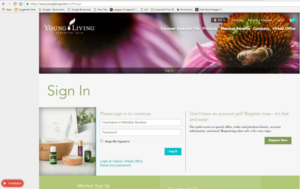 sign-in-virtual-office-page