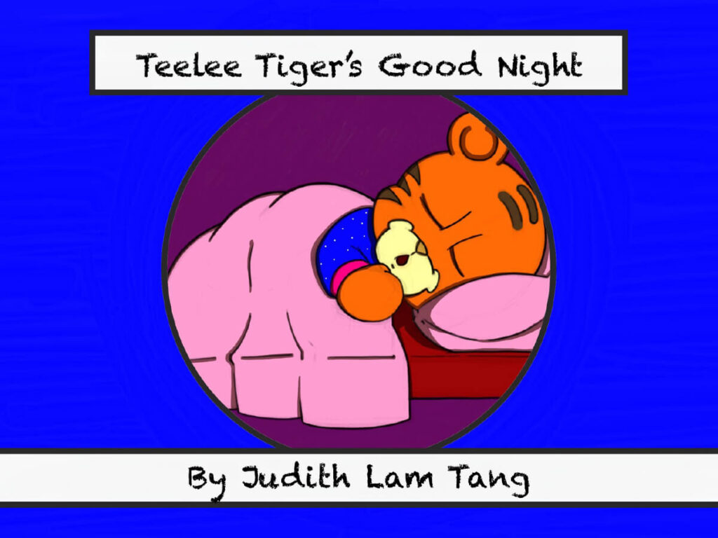 Teelee Tiger's Good Night