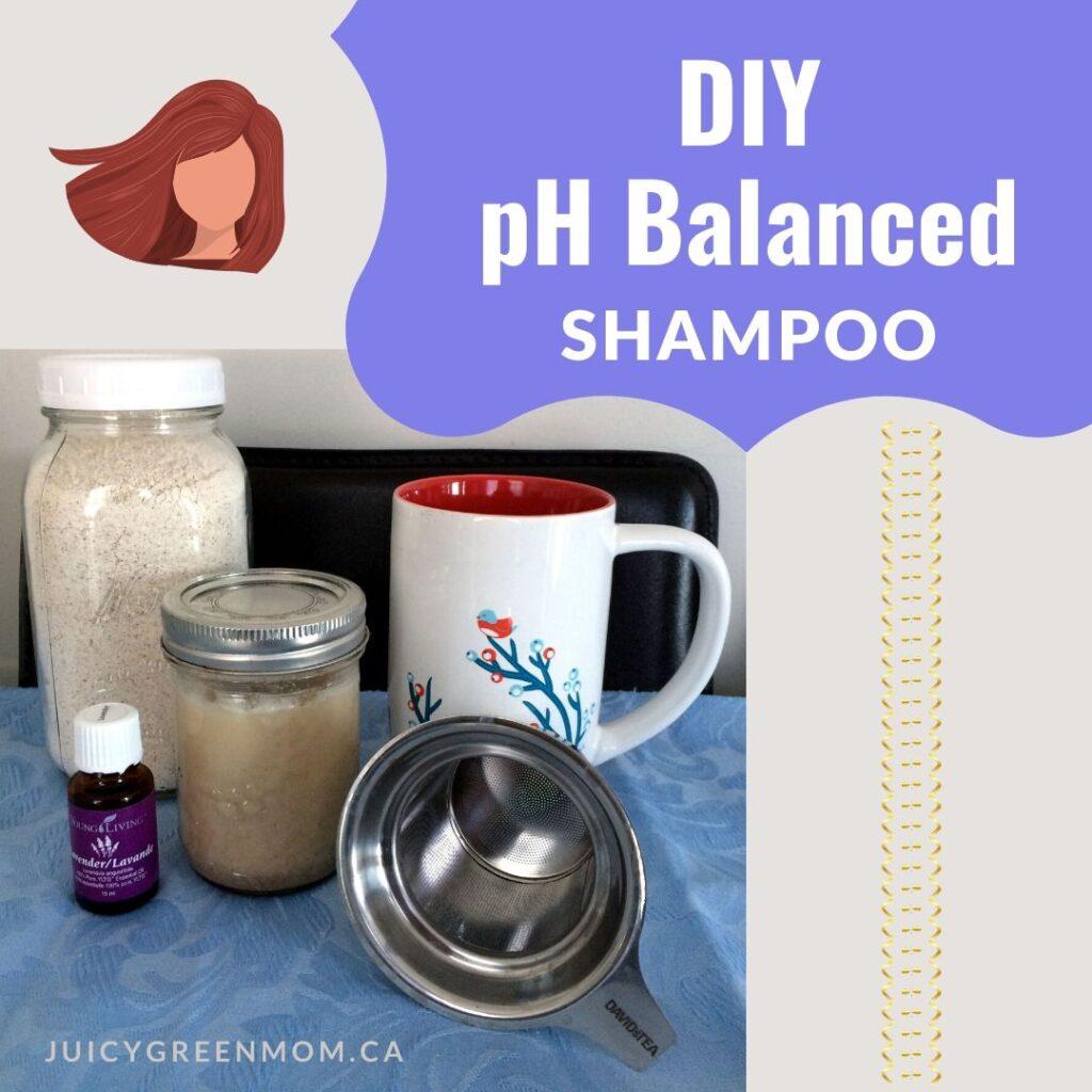 diy ph balanced shampoo juicygreenmom