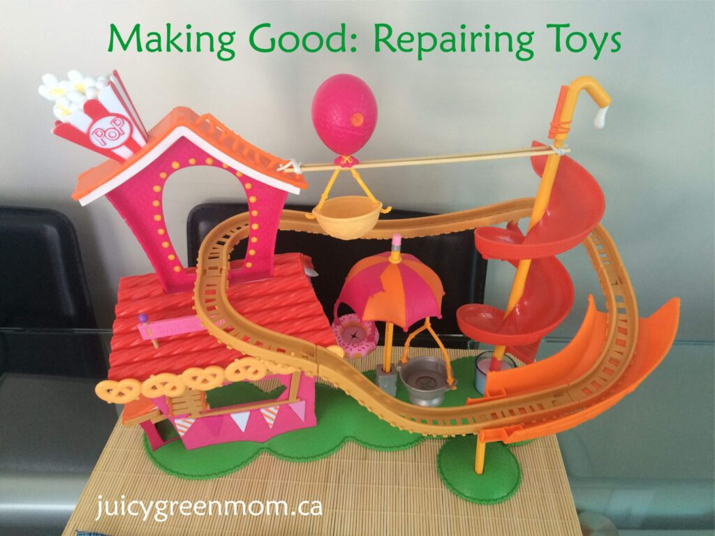 making-good-repairing-toys-lalaloopsy-silly-funhouse-fixed-juicygreenmom