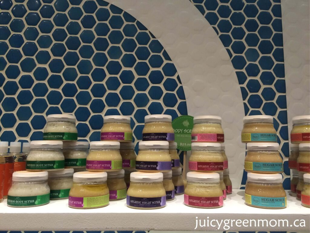 rocky mountain soap company sugar scrubs in store