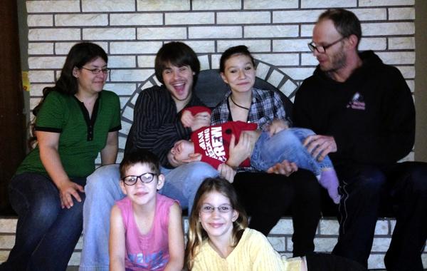Jennifer's green family!