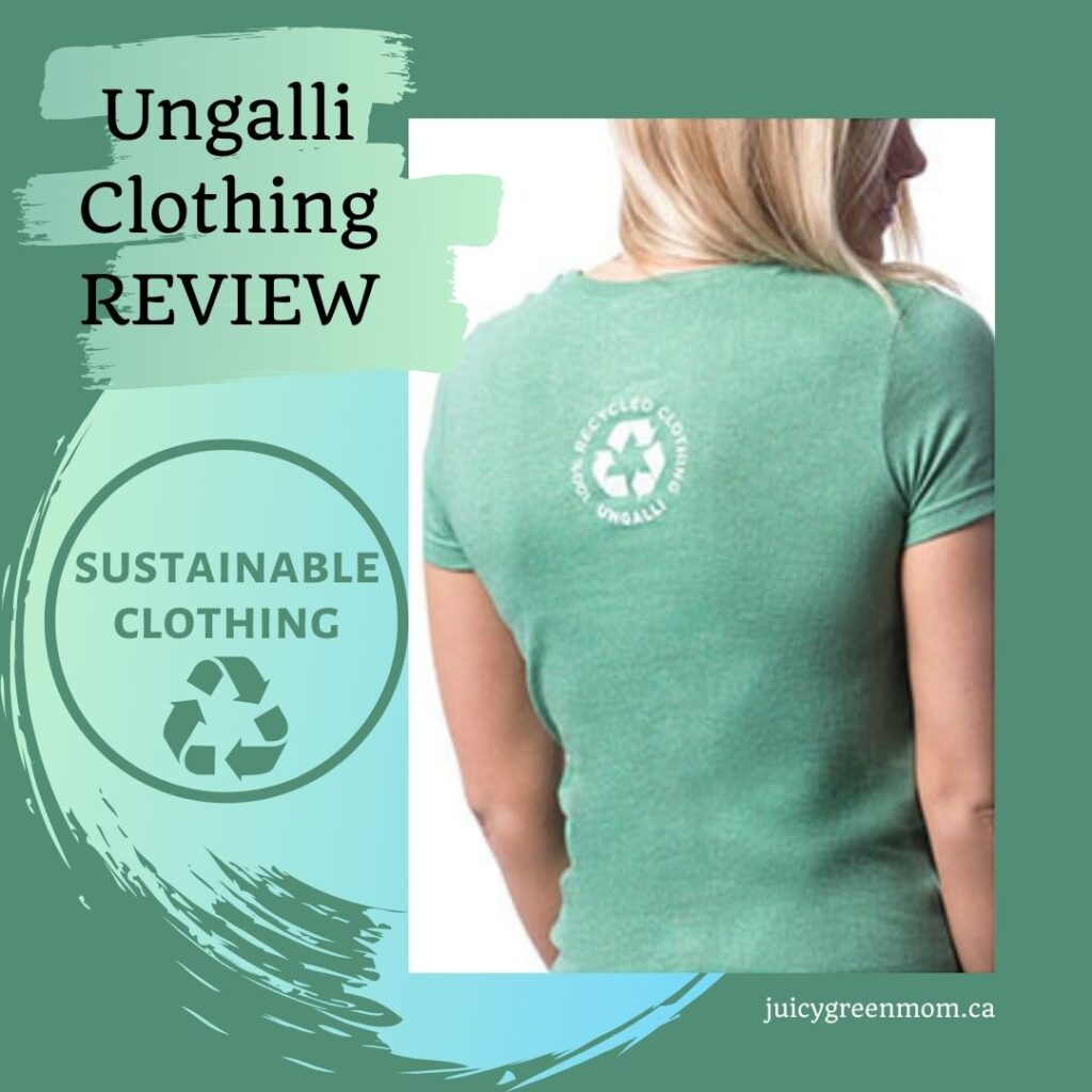 Ungalli Clothing REVIEW sustainable clothing juicygreenmom
