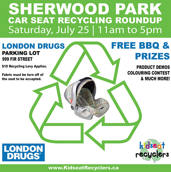 Kidseat Recyclers Roundup at London Drugs