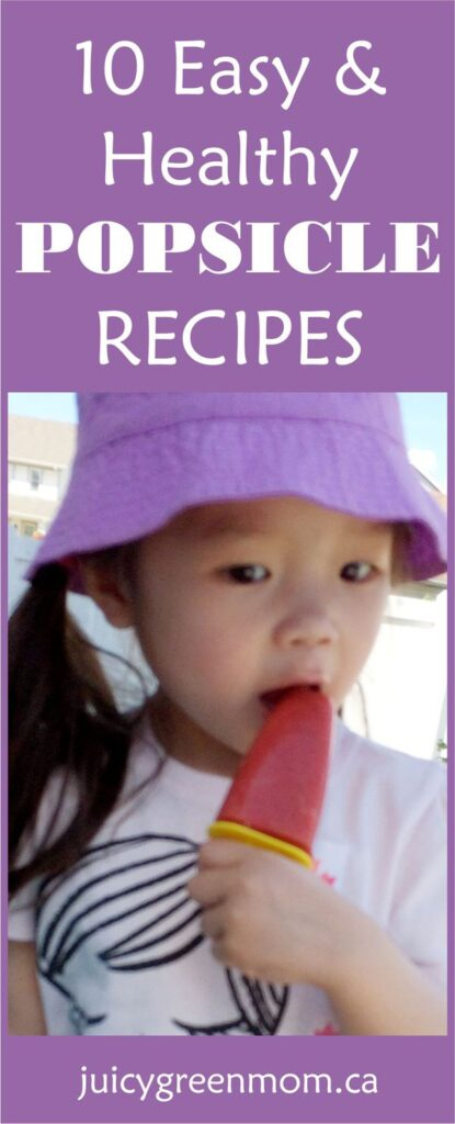 Easy Healthy Popsicle Recipes