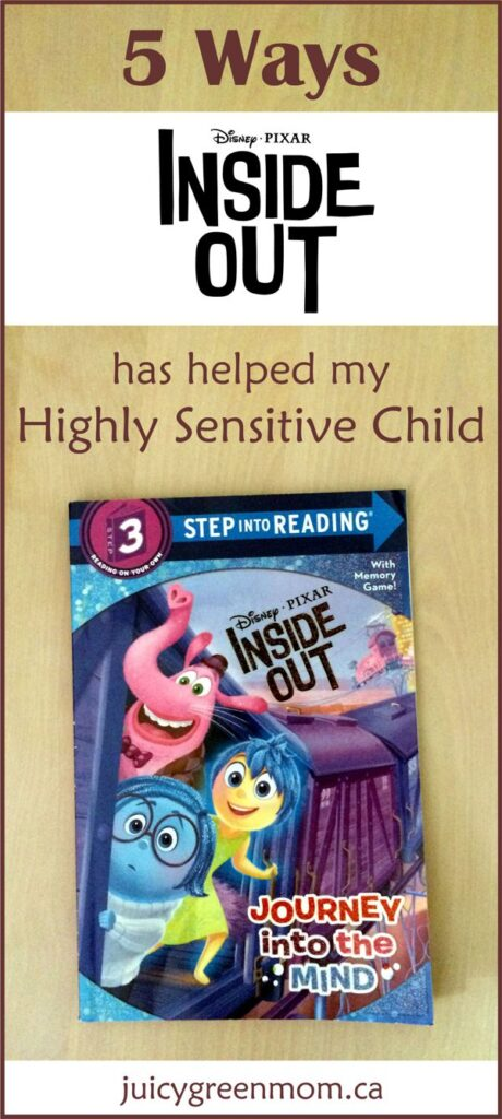 disney pixar inside out book