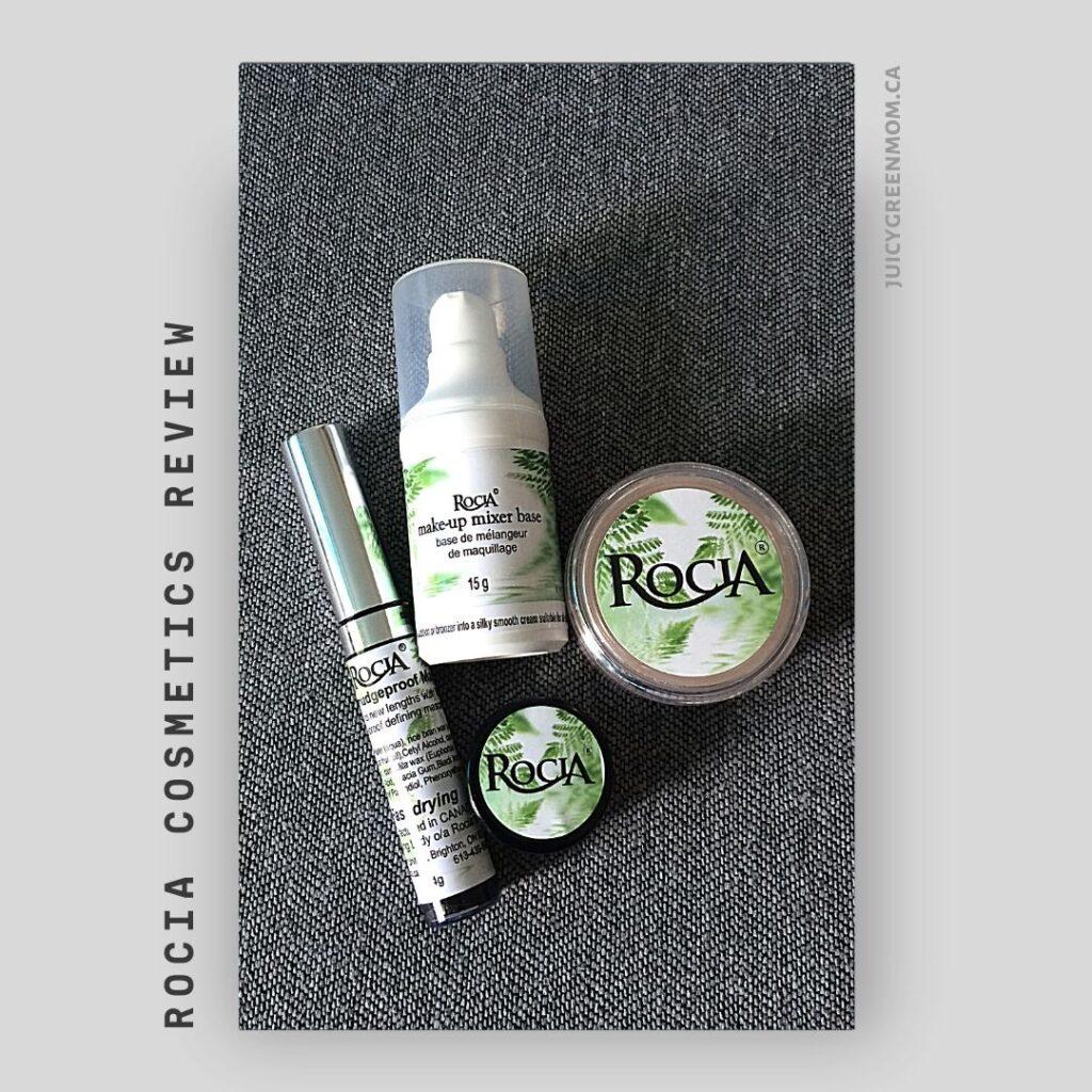 Rocia Cosmetics REVIEW juicygreenmom