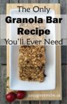 only granola bar recipe you need portrait juicygreenmom