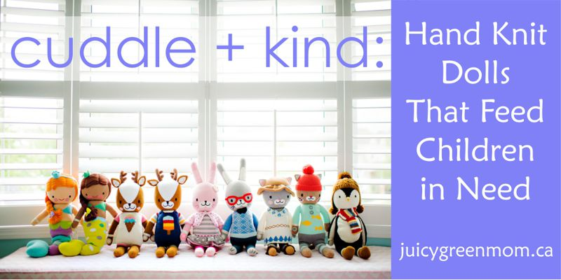cuddle + kind hand knit dolls collection