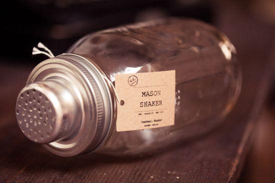 mason shaker stainless steel
