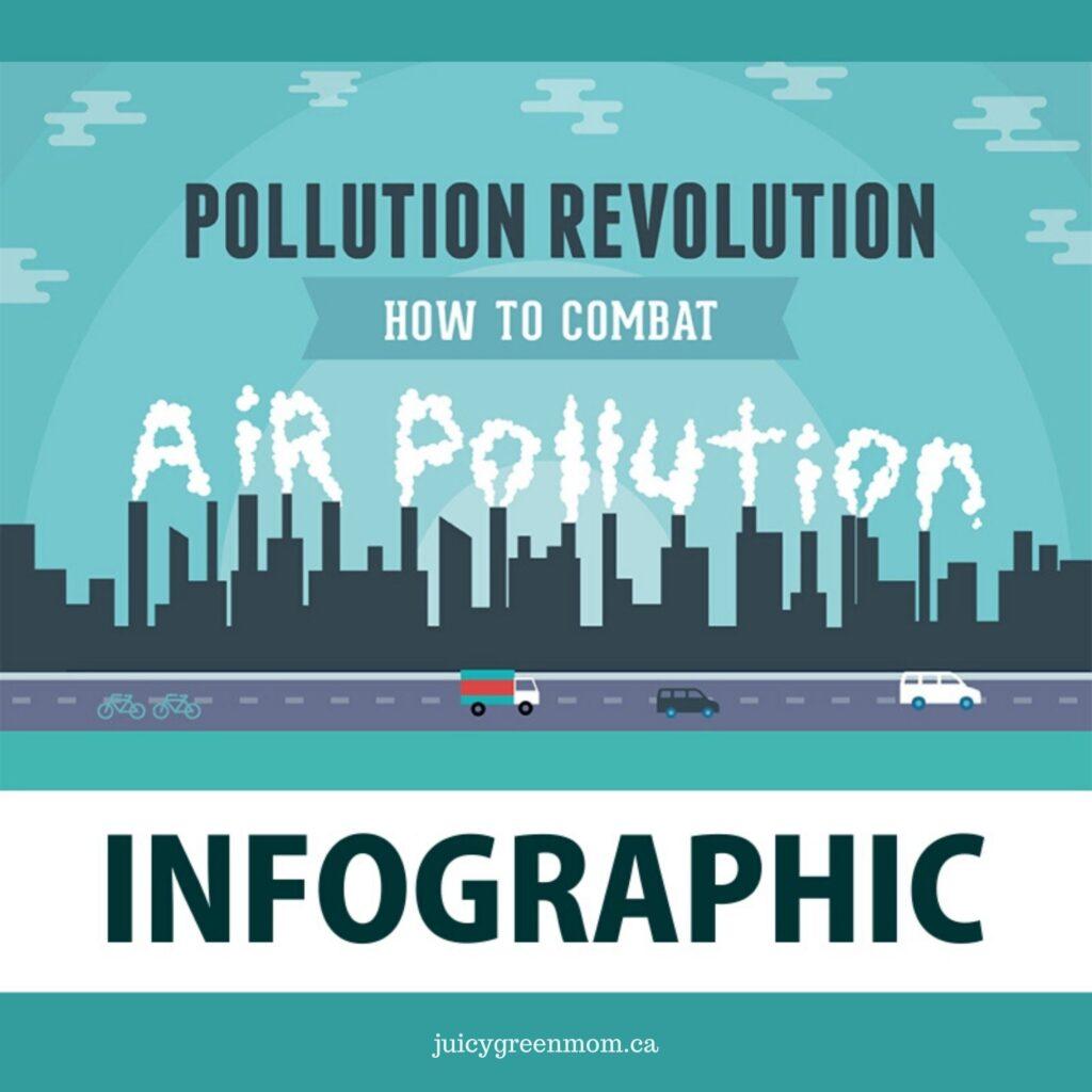 pollution revolution infographic juicygreenmom