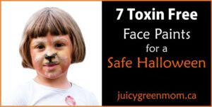 toxin free face paints for a safe halloween juicygreenmom