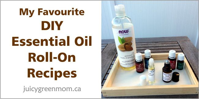 DIY essential oil roll ons juicygreenmom landscape