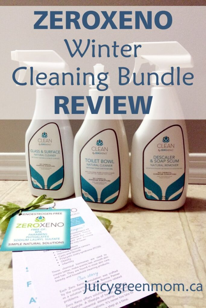 zeroxeno winter cleaning bundle review juicygreenmom