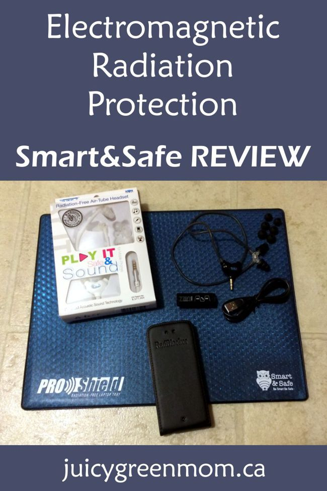 electromagnetic radiation protection smart&safe review juicygreenmom